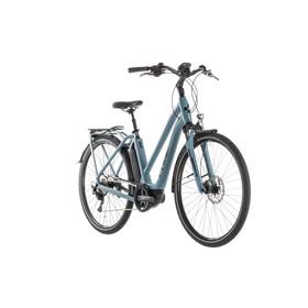 Cube Town Sport Hybrid Pro 400 Elcykel City Trapez blå/Petrol
